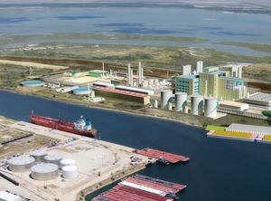 Der PET-Komplex in Corpus Christi wird realisiert (Abb.: M&G Chemicals)
