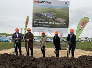 Gardena: Spatenstich zum Ausbau der K-Verarbeitung in Gerstetten - KunststoffWeb