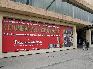 Kunststoff-Messe im Zentrum von Bogota (Foto: Colombiaplast/Acoplásticos)